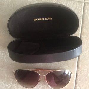 Michael Kors Aviator Sunglasses Chelsea